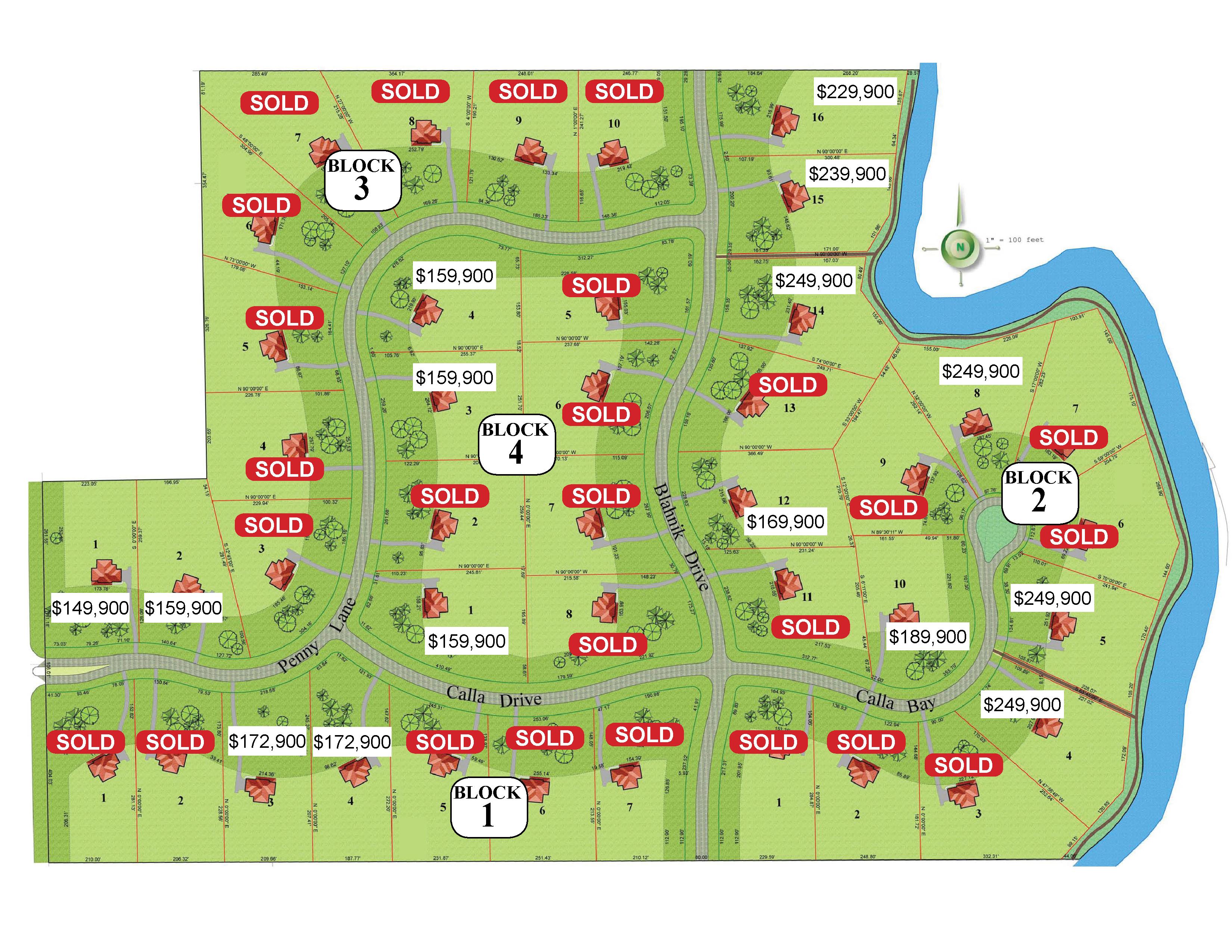 The Grande Development Site Map